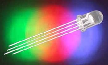 LED RGB 5 B čirá 1500/5000mcd 30°