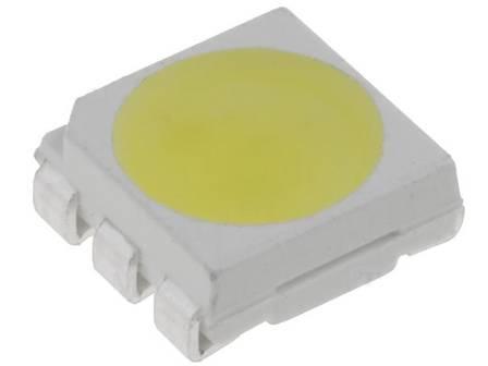 LED 5060 bílá SMD 20lm 3x20mA 120st 5x5.5mm