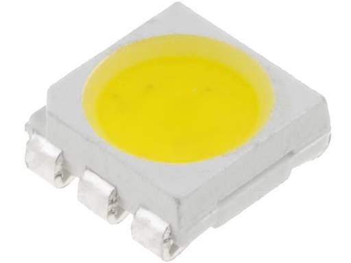 LED 5060 bílá teplá SMD 20lm 3x20mA 120st 5x5.5mm