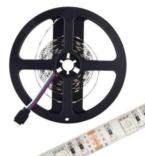 USB LED pásek 5050 RGB IP65 2m