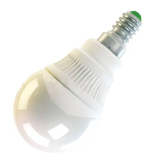 LED žárovka E14 4W/230V bílá teplá 320lm