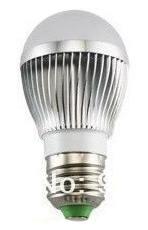 Žárovka LED 3W 220V bílá st E27 300lm 180st. pr.50x100 6000K 50000h.