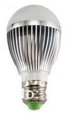 Žárovka LED 5W 220V bílá st E27 DOPRODEJ 400lm 180st. pr.60x110 6000K 30000h.