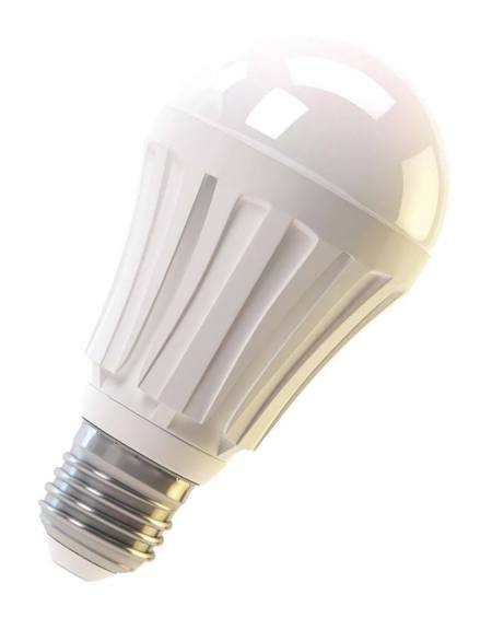 Žárovka LED 10W 220V bílá tep E27 DOPRODEJ 806lm pr.60x118 3000K 30000h.