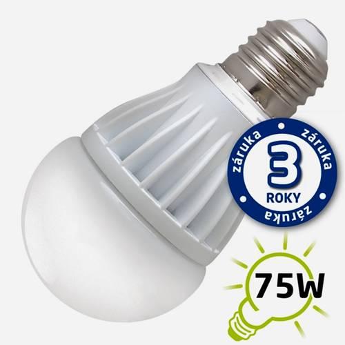 Žárovka LED 12W 220V bílá denní E27 960lm