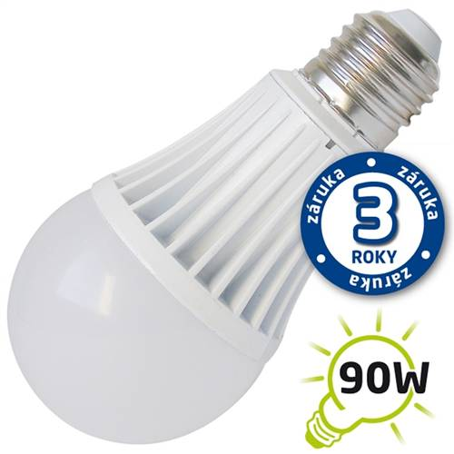 Žárovka LED 15W 220V bílá tep E27 1200lm