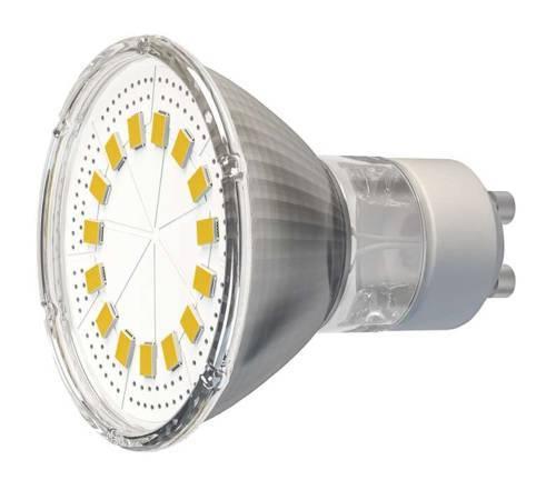 Žárovka 15xLED 220V/GU10 3.5W 230lm - bílá teplá