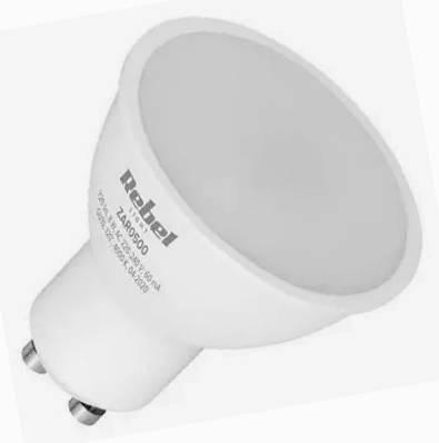 Žárovka LED 220V/GU10 8W 560lm - bílá teplá 100°