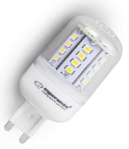 Žárovka LED 220V/G9 5W 450lm - bílá teplá 270°