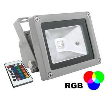 LED reflektor 10W 220V RGB Epistar - MCOB