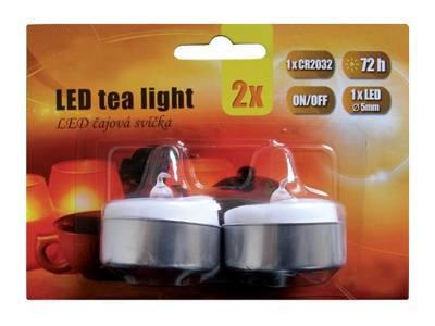 LED svíčky čajové 2ks