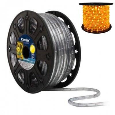 LED světelný had GIVRO LED-YE žlutá Kanlux 08634