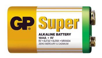 Baterie Golden 9V alkalická Ultra