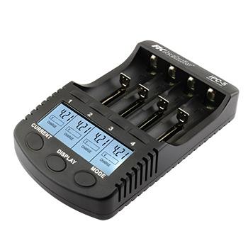 Nabíječka IPC-5 pro NiMH,NiCD,Li-ion -AAA,AA,18650+USB 1000mA