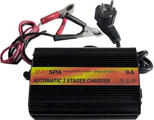 Nabíječka Pb akumulátoru 12V/9A 130W CARSPA ENC1209