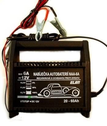 Nabíječka Pb baterií 12V/6A ELSIN