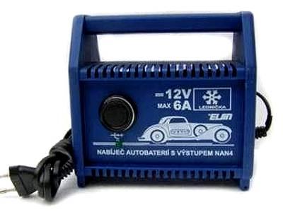 Nabíječka PB baterií - napáječ 12V/6A