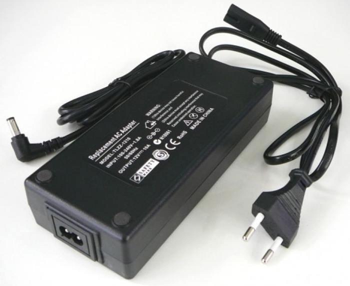 Zdroj LED 120W 12V/10A stolní+kabel