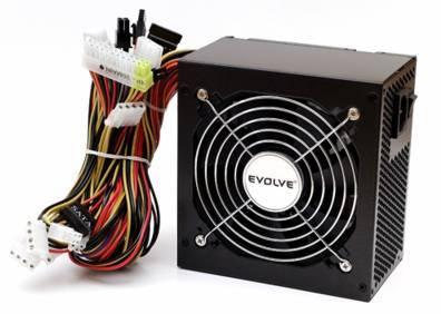 Zdroj PC 450W ATX 2.2 EVOLVE Pulse SATA,12cm vent. tichý, černý