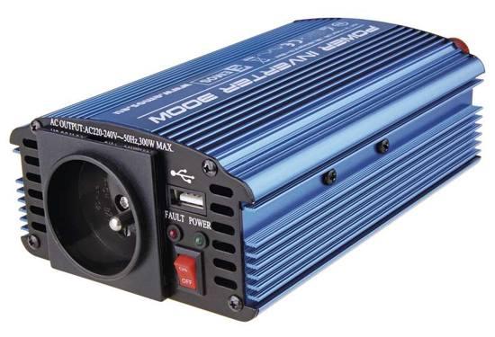 Měnič napětí 12V/230V, 300W