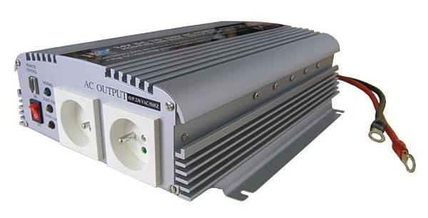 Měnič napětí 12V/230V, 1000W