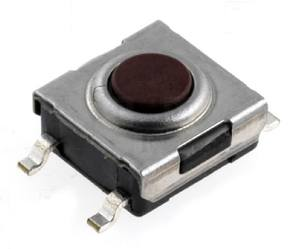 Mikrospínač SMD TACTM-63N 12V/50mA 6.2x6.2x3.1mm
