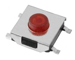 Mikrospínač SMD TACTM-63N-F 12V/50mA 6.2x6.2x3.1mm