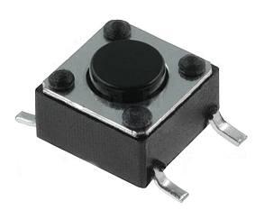 Mikrospínač SMD TACTM-64N-F 12V/50mA 6x6x4.3mm