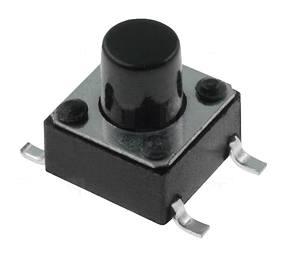 Mikrospínač SMD TACTM-67N-F 12V/50mA 6x6x7mm