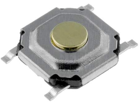 Mikrospínač SMD TACTB-64K-F 12V/500mA 5.2x5.2x1.5mm