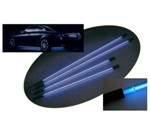 Neon auto AQ12 modrý voda 35cm + měnič POSLEDNí KUS