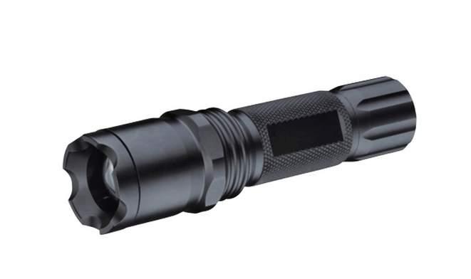 Svítilna LED 3W CREE Q3 LED/ZOOM celokovová 3xR3