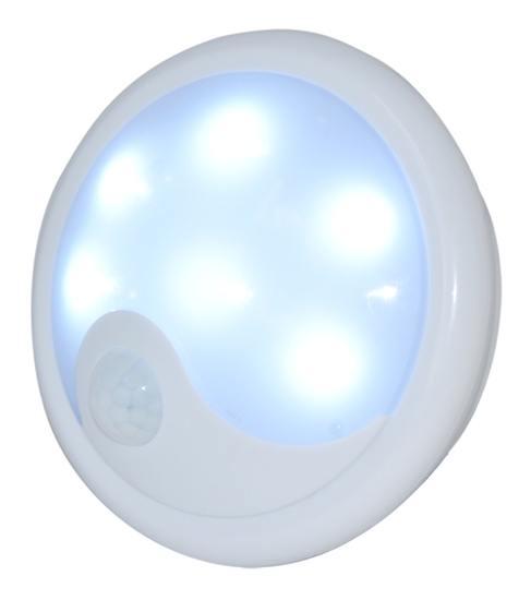 Noční LED světlo UFO s detektorem pohybu