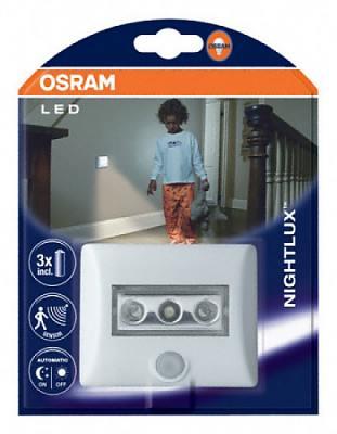 Noční LED světlo Nightlux s detektorem pohybu