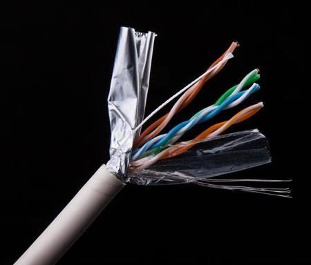 Datový kabel CAT 5E FTP 305m - licna stíněná Gembird