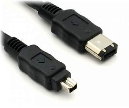 Kabel IEEE 1394 FireWire /6m-4m/ 1.8m DV kam.- PC