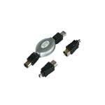 Kabel IEEE 1394 FireWire /6m-6m/6m-4m/4m-4m 1.8M PC/NB-kam.,foto,skener,čteč.,pam.kar.