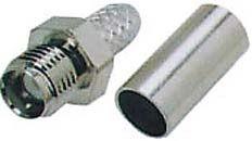 SMA zásuvka kabel 5MM lisovací RG-58