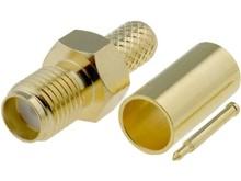 SMA zásuvka kabel 5MM reverzní lisovací RG-58