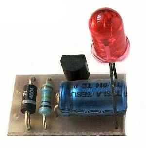 Indikátor LED 220V