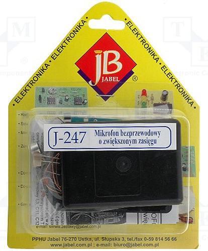 Bezdrátový mikrofón 88-108MHz VKV 9V DC