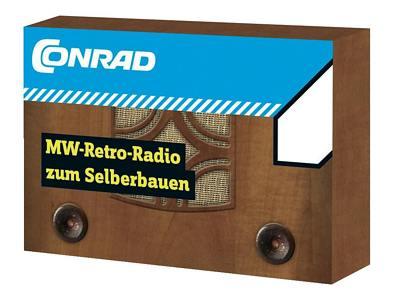 Stavebnice Conrad *Retro rádio SV*
