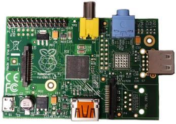 Raspberry Pi 1 Model A 256MB RAM