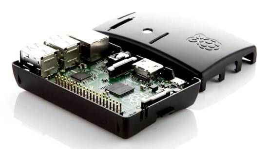 Raspberry Pi Model B+ 512MB + Case