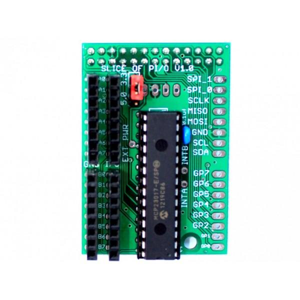 Přídavný modul pro Raspberry Pi (K002) Slice of PI/O