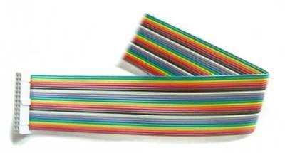 Kabel GPIO pro Raspberry B - 1xzásuvka (26pin) 20cm barevný