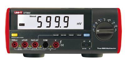 Multimetr UT 803 UNI-T stolní USB-PC