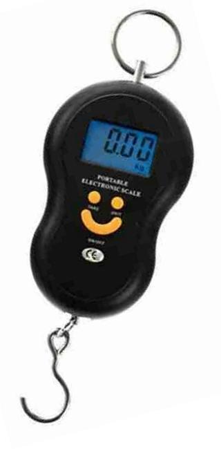 Digitální závěsná háková váha - kapesní 50kg/0.01g