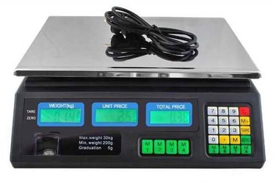 Digitální váha - obchodní 0-30kg/5g
