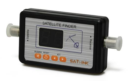 Satelitní vyhledávač Satlink WS-6903 LED+zvuková indikace
